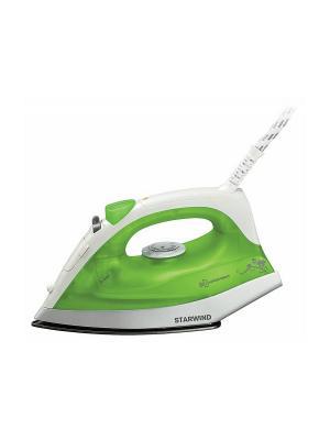Утюг STARWIND SIR4315, 1200Вт, зеленый. Цвет: зеленый