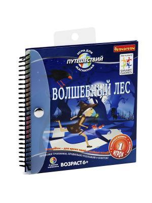 Магнитная игра Bondibon для путешествий, ВОЛШЕБНЫЙ ЛЕС, SGT 210 RU.. Цвет: фиолетовый