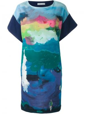Платье Iceland Tsumori Chisato. Цвет: синий