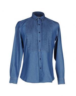 Джинсовая рубашка PORTS 1961. Цвет: синий