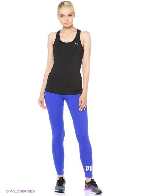 Леггинсы ESS No.1 Leggings W Puma. Цвет: синий