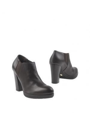 Ботинки GIONATA. Цвет: темно-коричневый