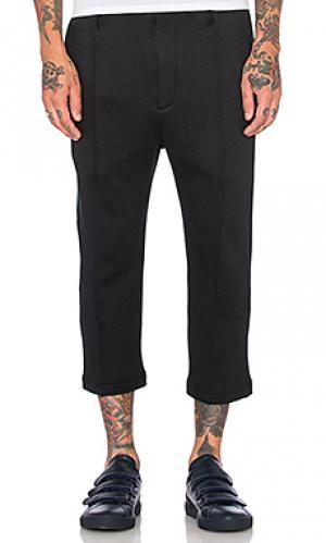 Укороченные спортивные брюки Wil Fry. Цвет: черный