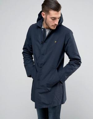 Farah Куртка на молнии Grendon. Цвет: темно-синий