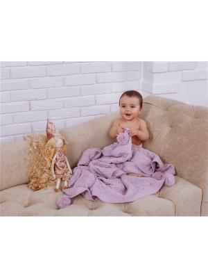 Плед детский Sabi SARABARA. Цвет: сиреневый