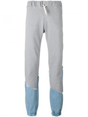 Спортивные брюки Comfy Andrea Crews. Цвет: серый