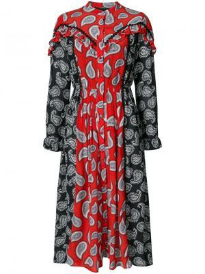 Платье Mick Dodo Bar Or. Цвет: красный