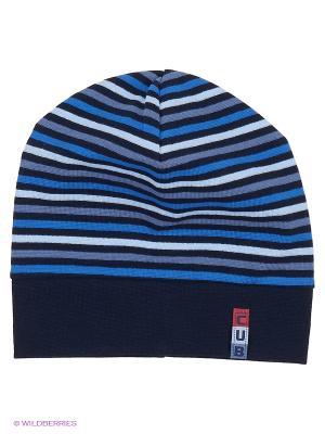 Шапка Elo-Melo. Цвет: голубой, темно-синий