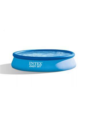 Бассейн Easy Set (надувной верх) 3,96х0,84 м Intex. Цвет: голубой