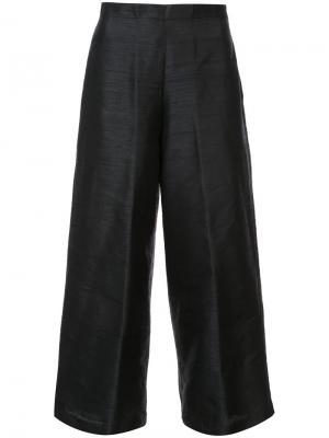 Широкие брюки Vivetta. Цвет: чёрный