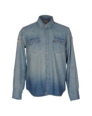 Джинсовая рубашка LEVI'S RED TAB. Цвет: синий