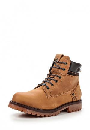Ботинки Wrangler. Цвет: желтый