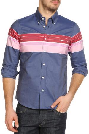 Рубашка Harmont&Blaine. Цвет: серый
