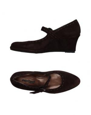 Туфли MELLUSO. Цвет: темно-коричневый