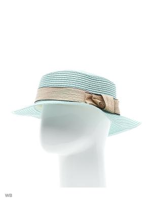 Шляпа Sophie Ramage. Цвет: бирюзовый