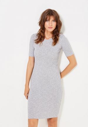 Платье Modis. Цвет: серый