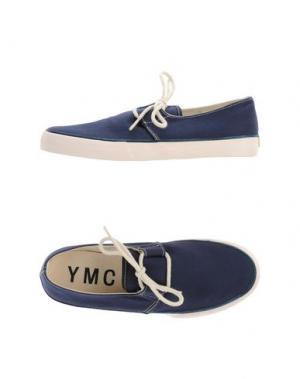 Низкие кеды и кроссовки YMC YOU MUST CREATE. Цвет: темно-синий