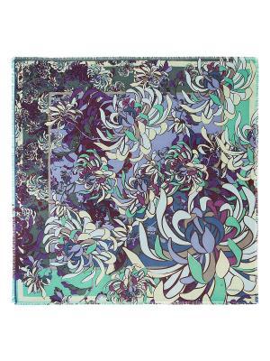 Платок Eleganzza. Цвет: зеленый, светло-зеленый, сиреневый