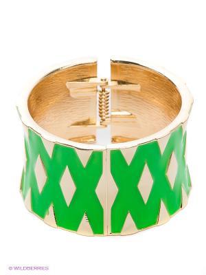 Браслет Lovely Jewelry. Цвет: зеленый