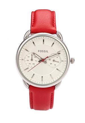 Часы Fossil. Цвет: красный