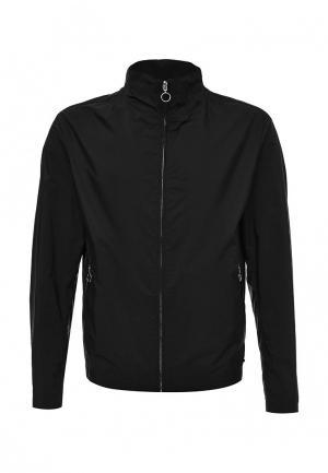 Куртка Hugo Boss. Цвет: черный