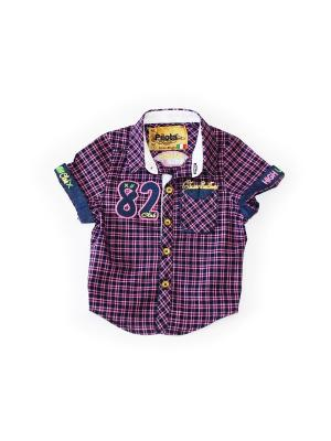 Рубашка Pilota. Цвет: розовый