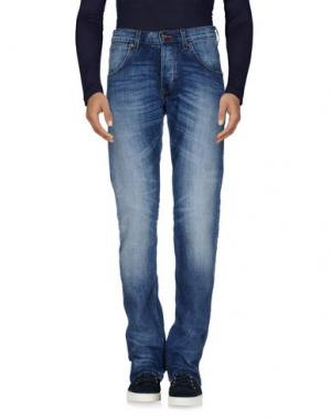 Джинсовые брюки WRANGLER. Цвет: синий