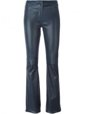 Расклешенные брюки Jitrois. Цвет: синий