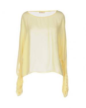 Блузка H2O ITALIA. Цвет: желтый
