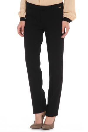 Прямые брюки с застежкой на молнию Cristina Effe. Цвет: 2-6a 5, nero