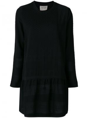 Longsleeved dress Cecilie Copenhagen. Цвет: чёрный