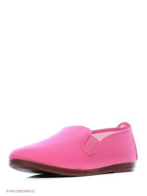 Слипоны FACE. Цвет: розовый