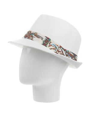 Шляпа Gusachi. Цвет: белый, оранжевый, синий