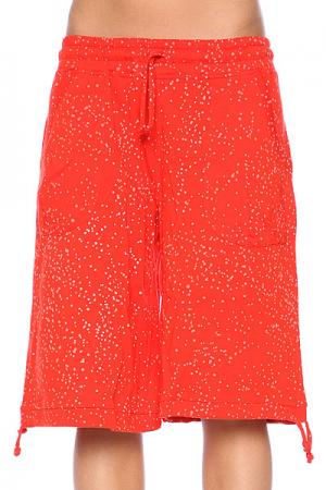Шорты пляжные женские  Amused Scarlet Red Nikita. Цвет: оранжевый