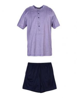 Пижама LA PERLA. Цвет: розовато-лиловый