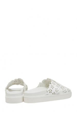 Кожаные сандалии Simone Rocha. Цвет: белый
