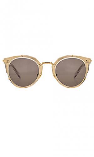 Солнцезащитные очки sphinx WESTWARD LEANING. Цвет: металлический золотой