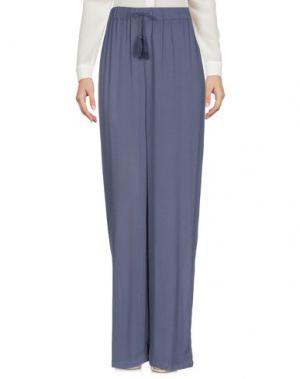 Повседневные брюки AMERICAN VINTAGE. Цвет: грифельно-синий