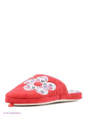 Тапочки De Fonseca. Цвет: красный
