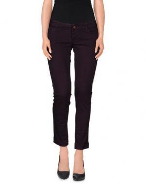 Повседневные брюки MACCHIA J. Цвет: темно-фиолетовый