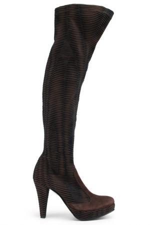 Сапоги Nila&Nila. Цвет: коричневый