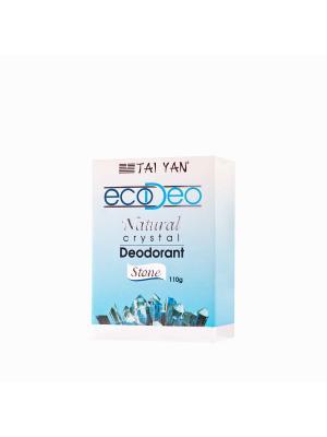 Дезодорант-кристалл EcoDeo TM Tai Yan, брусок 110 гр. YAN. Цвет: белый