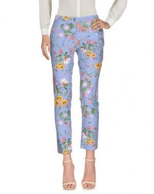Повседневные брюки CONTE OF FLORENCE. Цвет: сиреневый
