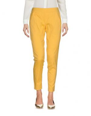 Брюки-капри CARLA G.. Цвет: желтый