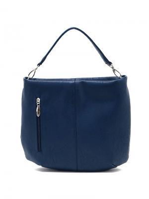Сумка Solo true bags. Цвет: синий, темно-синий