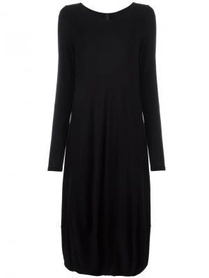 Платье-баллон Poème Bohémien. Цвет: чёрный