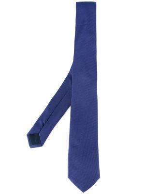 Фактурный галстук Tonello. Цвет: синий