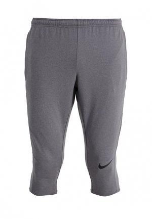 Бриджи Nike. Цвет: серый