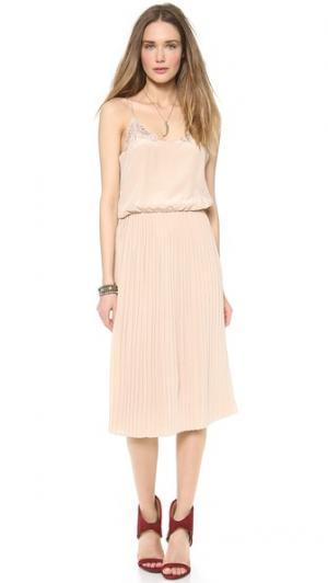 Платье Simona Carmella. Цвет: оранжевый
