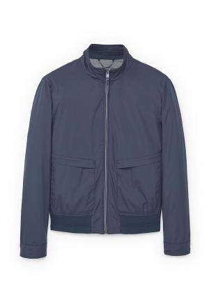Куртка Mango Man. Цвет: синий